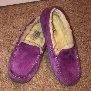 Ugg slip on moccasin house shoe